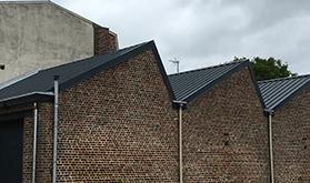 Construction toiture en zinc