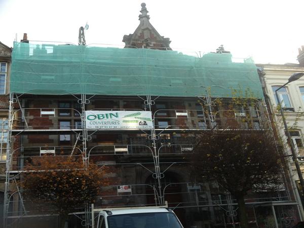 Vieille bâtisse rénovation toiture