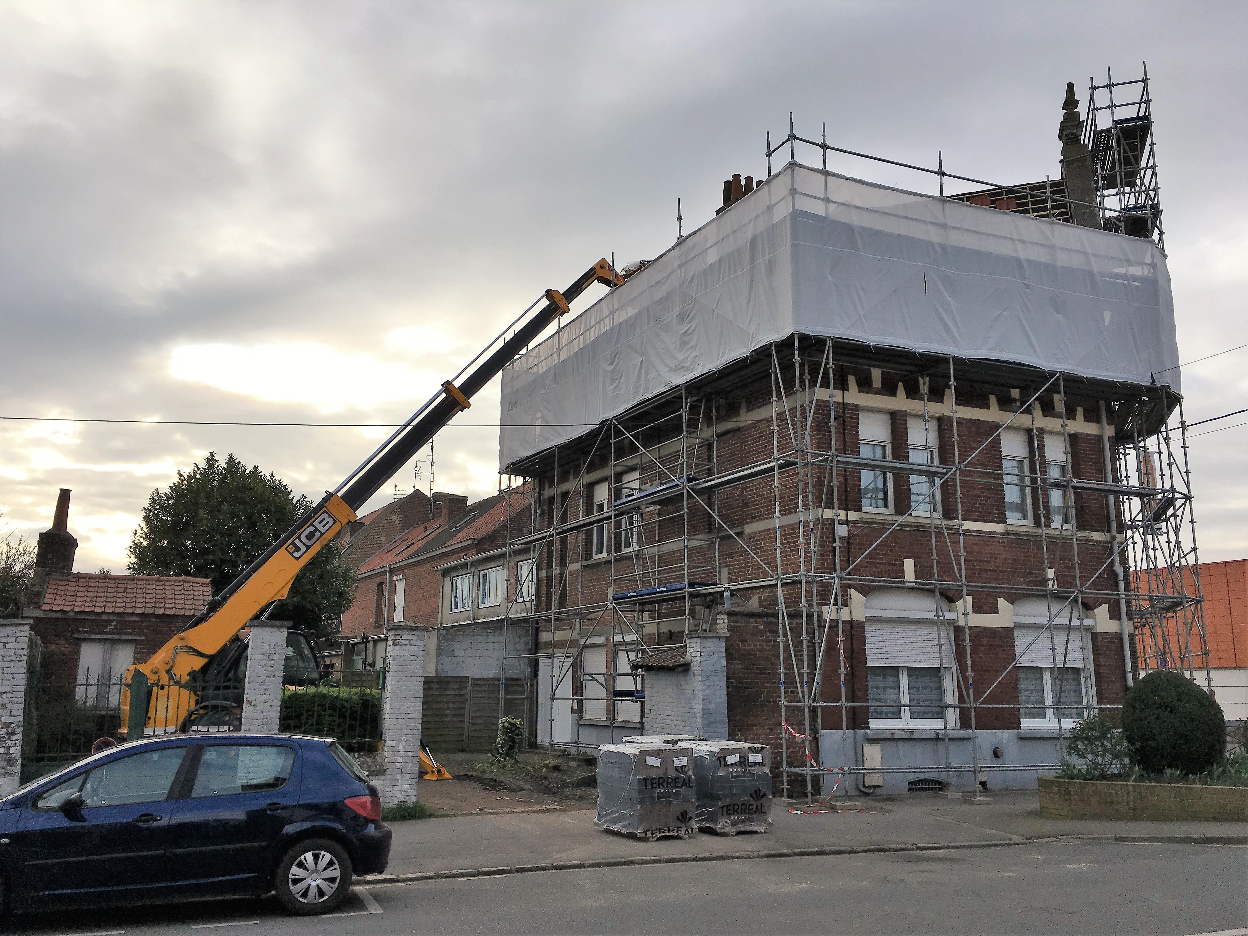 Rénovation toiture ancienne batisse