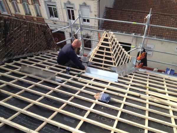 Réparation toiture bailleul